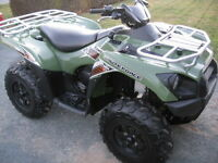 2012 KAWASAKI BRUTE FORCE 750 WITH POWER STEERING.ONLY 1,600 KMS