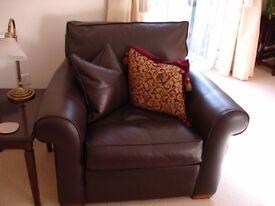 Duresta Leather Armchair - Model: The Cranborne (exclusive to John Lewis)