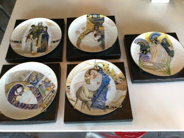 Biblical Mothers (Set of 5 NEW ) Knowles Collectors Plates by Eve Licea