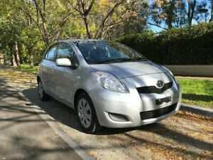2010 Toyota Yaris NCP91R MY10 YRS Silver 4 Speed Automatic Hatchback Hawthorn Mitcham Area Preview