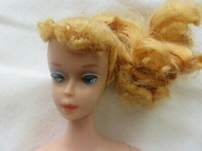 Vintage #4 Blonde Ponytail Barbie #850 Heavy Body TM ™ 1960