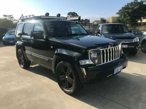 2012 Jeep Cherokee KK MY12 Limited Black 4 Speed Automatic Wagon Welshpool Canning Area Preview