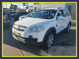 2009 Holden Captiva CG MY09 LX White Sports Automatic Wagon Lansvale Liverpool Area Preview