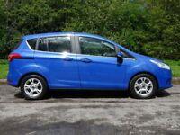 FORD B-MAX 1.6 ZETEC 5d AUTO 104 BHP (blue) 2014
