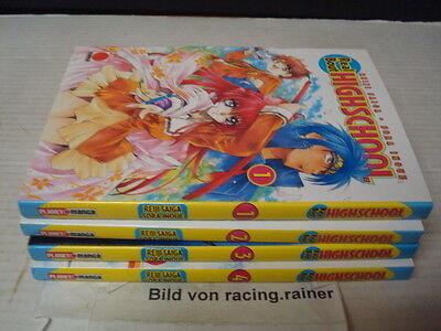 Real Bout Highschool Nr.1-4 Manga deutsch Realbout 1 2 3 4