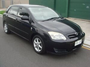 2005 Toyota Corolla ZZE122R 5Y Ascent Black 5 Speed Manual Hatchback Hampstead Gardens Port Adelaide Area Preview