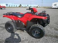 2014 HONDA FOREMAN 500 FM 4X4 WITH WINCH AND DIFFLOCK! $7595!