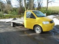VW T5 RECOVERY TRUCK, ALKO CHASSIS, KFS BODY, SUPERB !