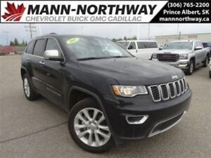 2017 Jeep Grand Cherokee Limited | Remote Start, Leather, Sunroo
