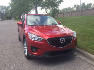 2015 mazda CX5 GT AWD Leather Sunroof loaded one owner hwy kms