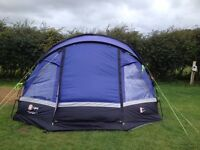 Hi gear VOYAGER 6 tent including Carpet and Footprint.