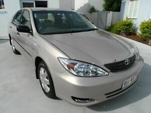 2002 Toyota Camry ACV36R Gold 4 Speed Automatic Sedan Southport Gold Coast City Preview