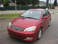 2003 Toyota Corolla S MINT CONDITION!