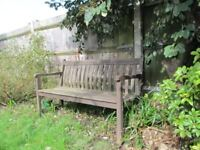 Garden benches in need of TLC