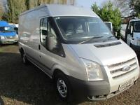 2013 Ford Transit 2.2TDCi 125PS 280 MWB Trend NO VAT 1 OWNER SILVER