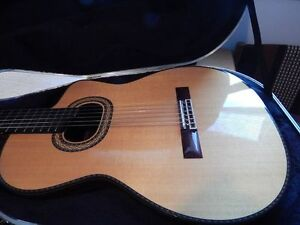 Takamine TH90 classical guitar with Cool Tube Preamp