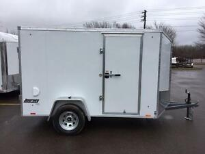 NEW 2018 PACE 6' x 10' JOURNEY ENCLOSED TRAILER