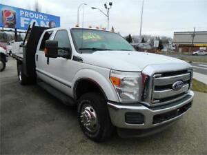 2011 Ford F-350 F350- 4X4  DECK /READY FOR WORK INSPECTED