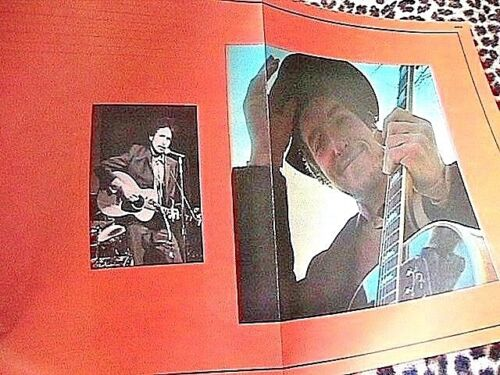 BOB DYLAN 1960s POSTER BOOK COVER~ DATED 1969 ~COLOR + BLACK & WHITE PHOTOS~ NEW