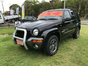 2004 Jeep Cherokee KJ Extreme Sport ED Black 4 Speed Automatic Wagon Clontarf Redcliffe Area Preview