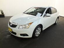 2011 Holden Cruze JH MY12 CD White 6 Speed Automatic Hatchback Clemton Park Canterbury Area Preview