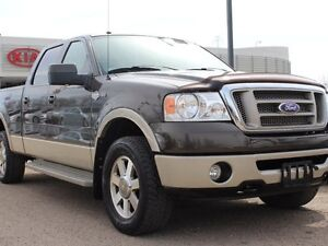 2008 Ford F-150 LARIAT KING RANCH, SUNROOF, 300HP