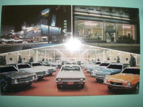 Degan Chevrolet  car dealer dealership auto 1960