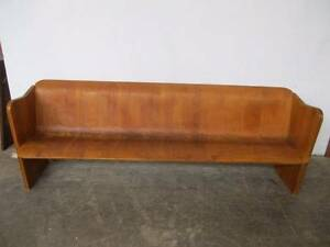 C12090 Lge Vintage RETRO Bentwood Church Pew Bench Seat 1960's Mount Barker Mount Barker Area Preview