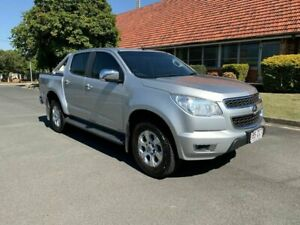 2015 Holden Colorado RG LTZ Silver 6 Speed Automatic Dual Cab Chermside Brisbane North East Preview