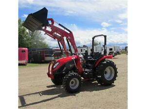 New 2015 TYM T454 - 46 HP Ranch Tractor w. ROPS & Front Loader