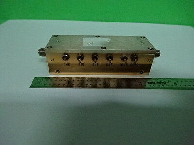 Weinschel Variable Attenuator Rf Microwave Frequency As Is 7b-a-30