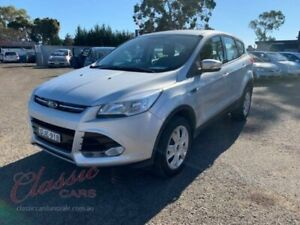 2014 Ford Kuga TF Ambiente (AWD) Silver 6 Speed Automatic Wagon Cabramatta Fairfield Area Preview