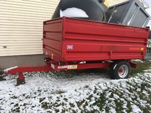 Tractor Utility Dump Trailer