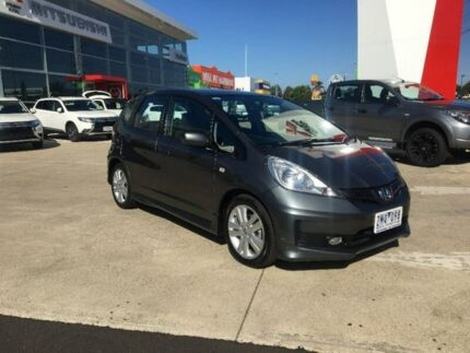 2013 Honda Jazz GE MY13 VTi-S Grey 5 Speed Sports Automatic Hatchback Hoppers Crossing Wyndham Area Preview