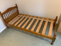 Pine single 3ft bed