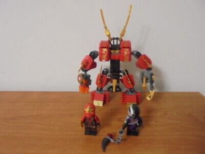 LEGO Ninjago Kai's Fire Mech 70500 w/ Kai and NINDROID - The Final Battle