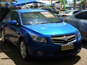 2009 Holden Cruze JG CDX Blue 5 Speed Manual Sedan Mount Druitt Blacktown Area Preview