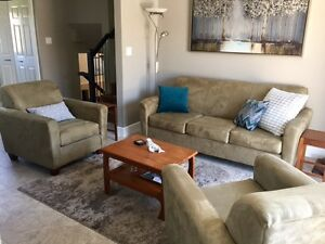 Living Room Set - Couch and Chairs