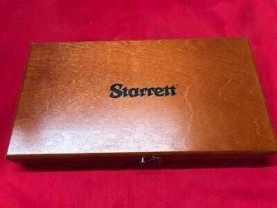 Starrett 483zz-2 Micrometer Case For 2 V-anvil In Stock