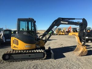 John Deere 50D Excavator w/ thumb for sale! MINT! $52,900.00