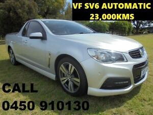 2013 Holden Ute VF SV6 Silver 6 Speed Automatic Utility Ellenbrook Swan Area Preview