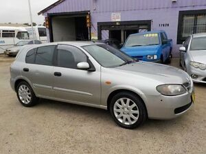 2004 Nissan Pulsar N16 MY03 Q Silver 4 Speed Automatic Hatchback North St Marys Penrith Area Preview