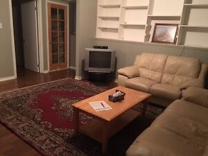 3 1/2 apartment for 650$/month cable-electricity-parking incuded