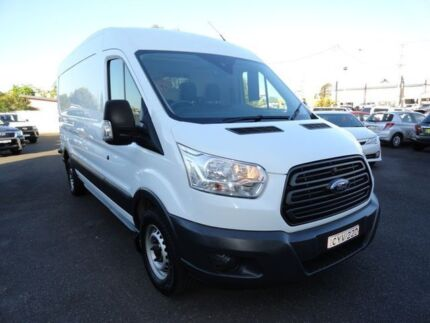 2014 Ford Transit VO 350L Mid Roof LWB White 6 Speed Manual Van West Ballina Ballina Area Preview