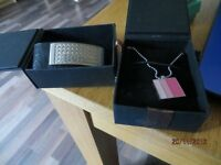 Bench Bracelet And Bench Necklace