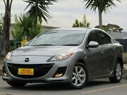 2010 Mazda 3 BL10F1 Maxx Activematic Sport Grey 5 Speed Sports Automatic Sedan Morphett Vale Morphett Vale Area Preview