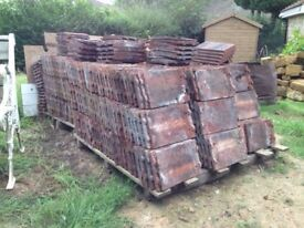 11x7 Inch Clay Roofing Tiles