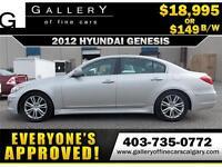 2012 Hyundai Genesis 3.8 $149 bi-weekly APPLY NOW DRIVE NOW