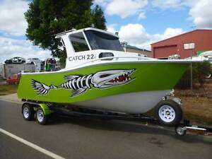 CNC 21FT WALK AROUND ALLOY HARDTOP CABIN BOAT Edmonton Cairns City Preview