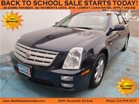 2006 Cadillac STS V6 Sedan with 4-Wheel ABS / SUNROOF / LEATHER